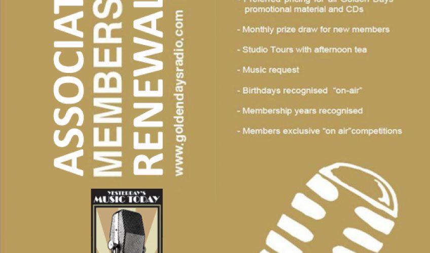 GDR Associate Membership Renewal