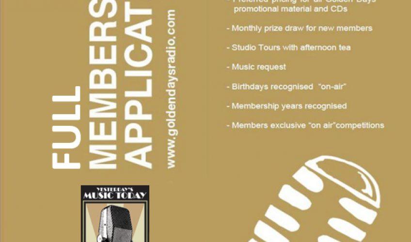 GDR Full Membership Application