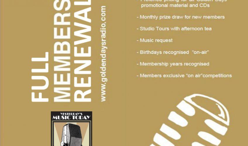 GDR Full Membership Renewal